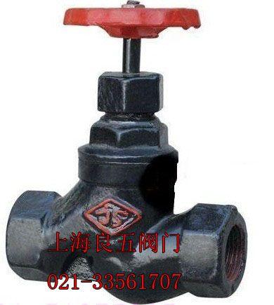 铸铁丝口截止阀j11t-16图片