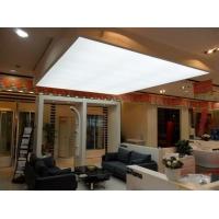高档商务展厅的装修风格 酒店大堂软膜天花吊顶 精印透光膜