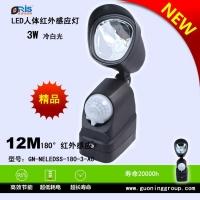 LED红外感应车库灯3瓦