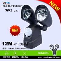 LED红外感应庭院灯