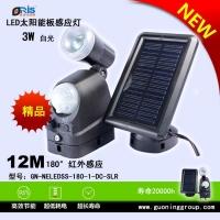 LED太阳能板感应灯