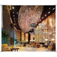 酒店水晶灯 酒店水晶灯定制 酒店水晶灯批发 酒店水晶灯配置