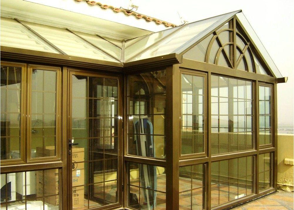 铝合金断桥窗 铝合金门窗 高清图片