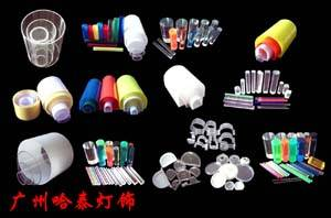 灯饰配件亚克力管棒PMMA管棒PC管护栏灯防水接头球泡塑料管