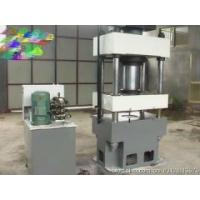 山东四柱三梁液压机  200吨 粉末压装机