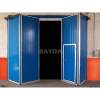 赛科工业折叠门,车库电动门,钢质工业门
