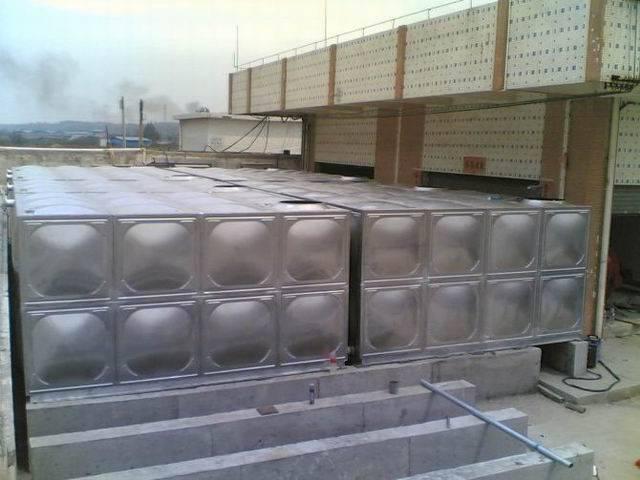 佛山组合式消防水箱 顺德方形消防水箱厂