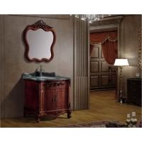 古典实木浴室柜