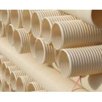 新疆PVC-U大口径波纹排水管材管件