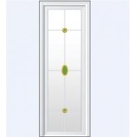 成都雅望系列白色新格条花玻璃vp-753
