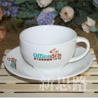 上海新思路佛罗伦萨陶瓷咖啡杯碟