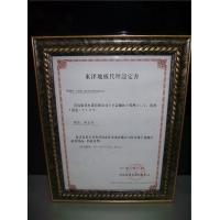 授权认证书