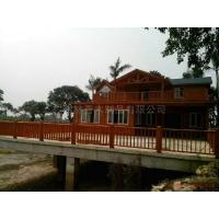 广东木屋 两层木屋 木屋住宅 木结构房屋