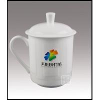 高档陶瓷套装杯,手绘礼品茶杯,定做会议杯