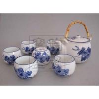 茶具批发 定做茶具 手绘茶具 青花玲珑茶具