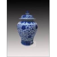 供应青花瓷罐子,定做枣罐,陶瓷罐子定制