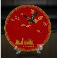 供应景德镇中秋节馈赠瓷盘 纪念瓷盘