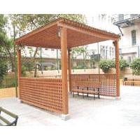 宜安木防腐木材 - 园艺系列