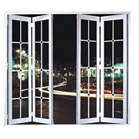 镁铝合金大折叠门