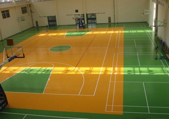 济南塑胶篮球场济南室外塑胶篮球场山东篮球场彩色塑胶场地