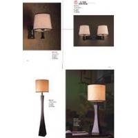 酒店客房灯、酒店灯具、实木工艺灯、木头灯