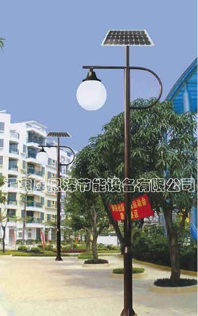 太陽能庭院燈 石家莊恩澤節能設備有限公司 山西晉中-- 石家莊恩澤太陽能