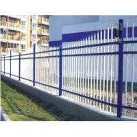 苏州围栏,静电喷涂钢管护栏