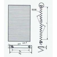 防尘折布/风琴式防尘折布-山东中益公司生产