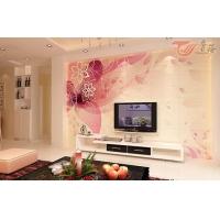 唐梦艺术背景墙瓷砖红缨