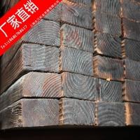 炭化木园艺护栏 炭化木景观建筑 环保炭化木 优质炭化木