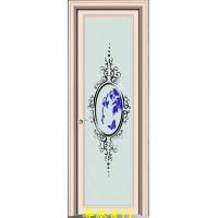 银弧双包套喷砂紫金卫生间门