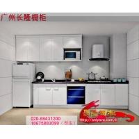 [长隆橱柜]厂家直销专业整体厨柜厨房定做 晶钢门板+人造石