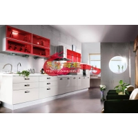 广州长隆宅配店 整体厨房 烤漆 特价1280/米 上下柜+台