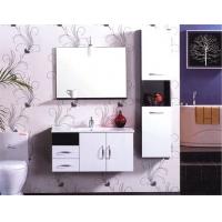五星品质 整体卫浴专家 高海现代简约浴室柜