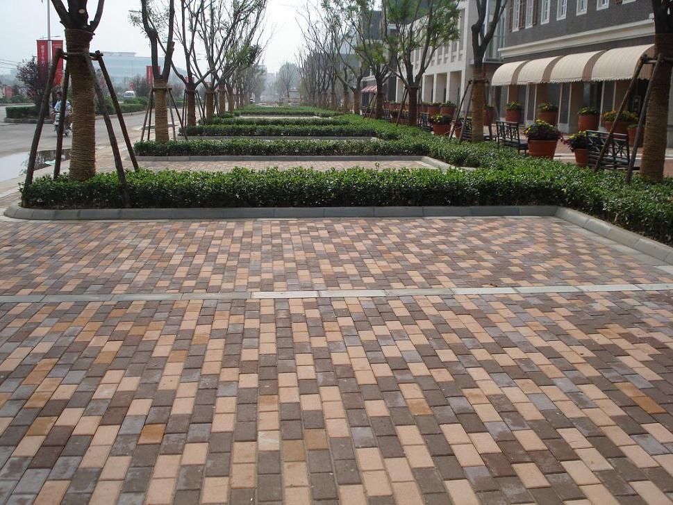 供应建菱砖,舒布洛克砖,彩色路面砖,荷兰砖,透水砖