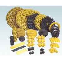 供应挖掘机链条 链板 驱动轮 引导轮