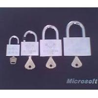 四方镀铬表箱锁