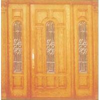 华腾木业--建筑木门--HT-123
