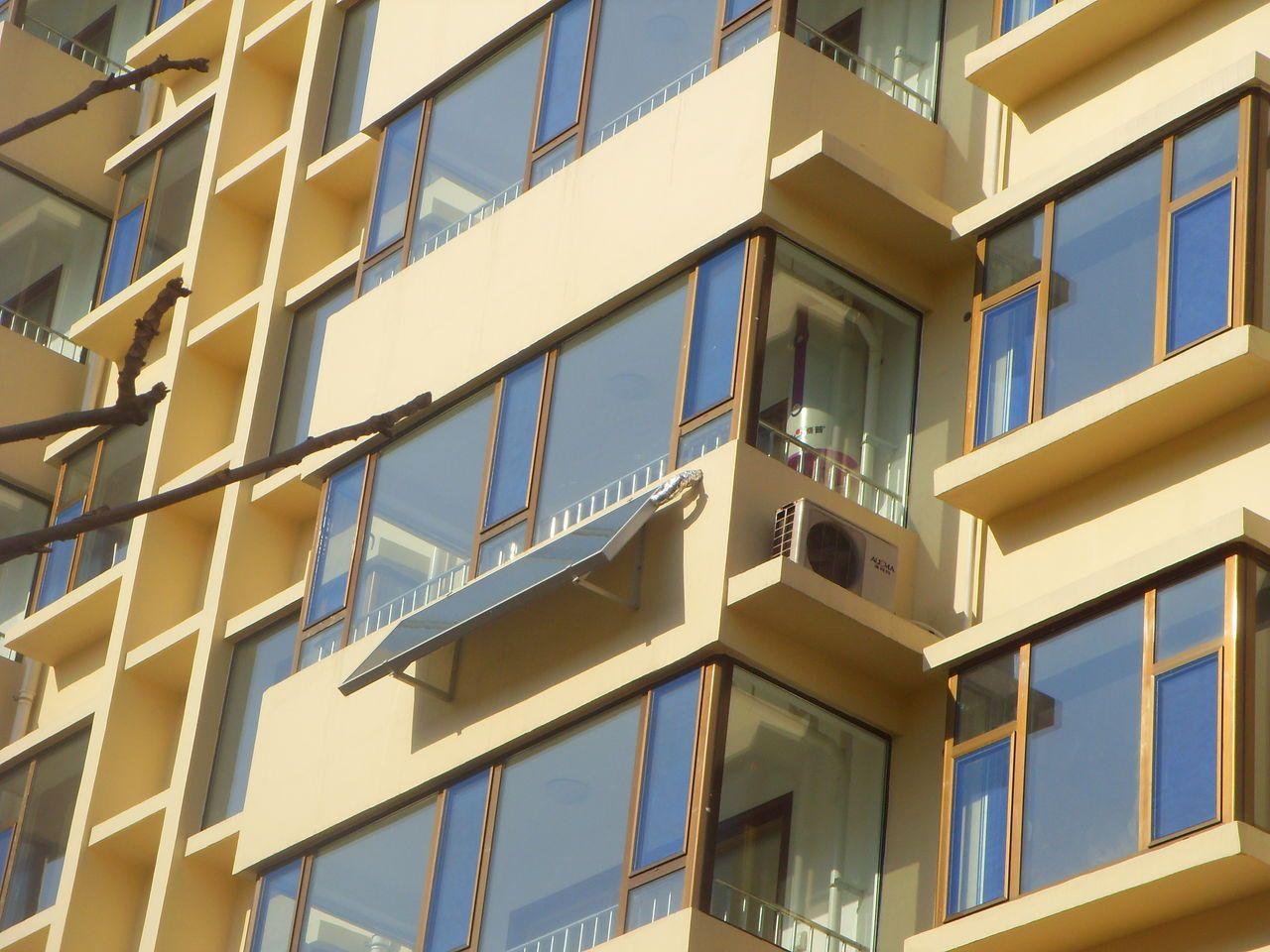 供应阳台壁挂式平板太阳能热水器