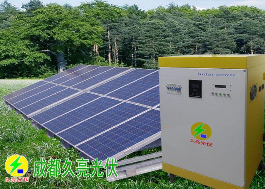 成都3000W至10千瓦家用太阳能掌握顺变一体机(带蓄电池)