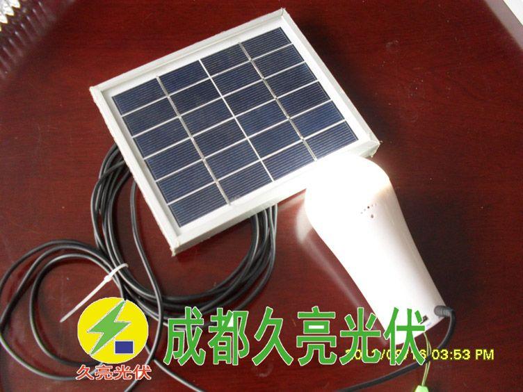 3W直流应急照明体系,太阳能手电,成都暂亮光伏