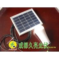 3W直流应急照明系统,太阳能手电,成都久亮光伏
