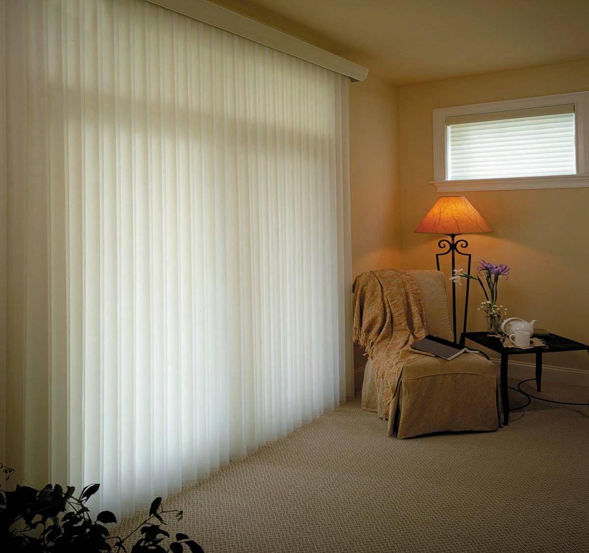 卧室百叶窗帘效果