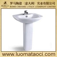 罗马品质-卫浴洁具批发-立柱盆5002