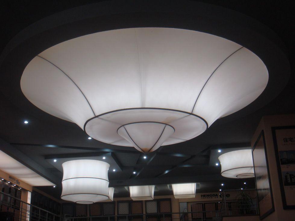 珠海软膜天花惠州透光膜灯箱膜东莞拉膜天花吊顶安装