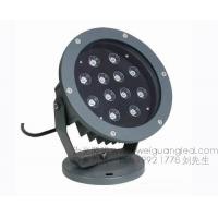 12W七彩变色LED投光灯