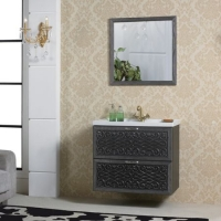 成都苏尔达洁具-实木浴室柜