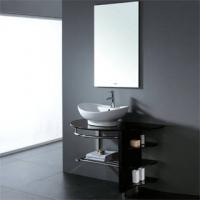 法恩莎洁具-浴室柜-实木浴室柜