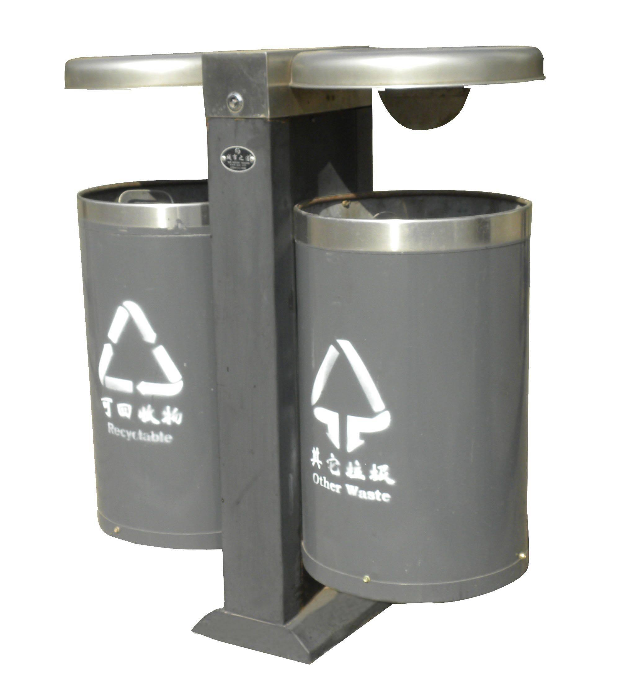 钢板喷塑垃圾桶 - 产品库