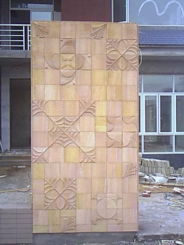 欧式拼花砂岩竖浮雕贴图